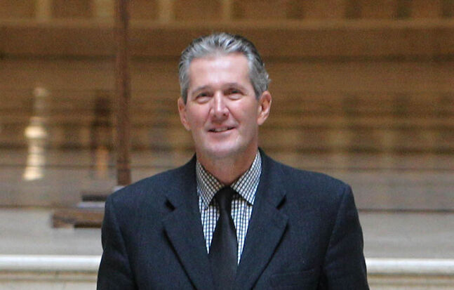 Manitoba Progressive Conservative Party Leader Brian Pallister