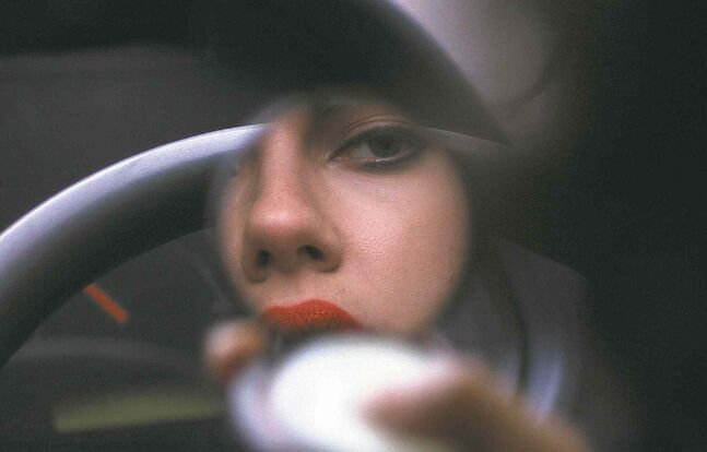 Scarlett Johansson has her eye on the  earthling prize in Under the Skin.