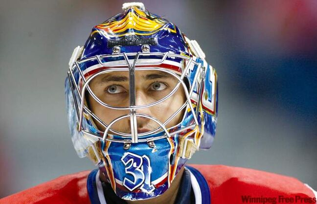 Petr David Josek / the associated press archivesGoalie coach Wade Flaherty said he�s looking forward to building relationships with the Jets goaltenders, including starter Ondrej Pavelec (above).