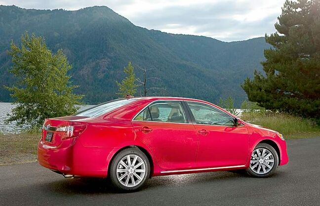 Hybrid models like the 2013 Camry Hybrid now account for 14 per cent of Toyota's global sales and 40 per cent of its sales in Japan.