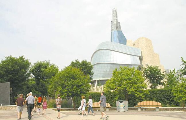 Pre-opening tour of Canadian Museum for Human Rights underscores how Winnipeg's history formed an important part of struggle for human equality.