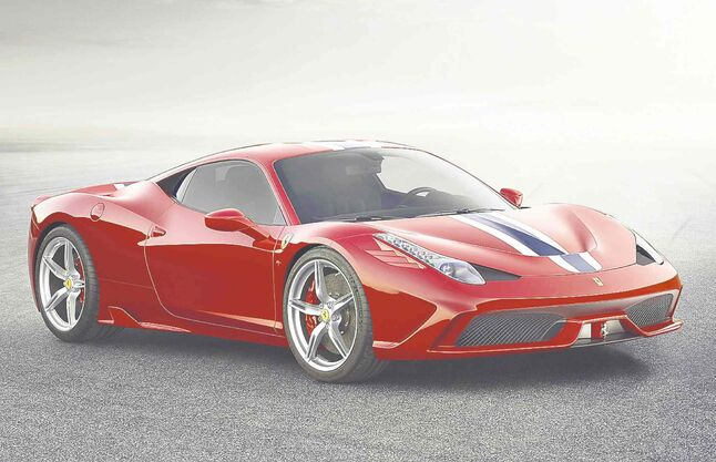 The special-edition Ferrari 458 Speciale lives up to its name for 2014.