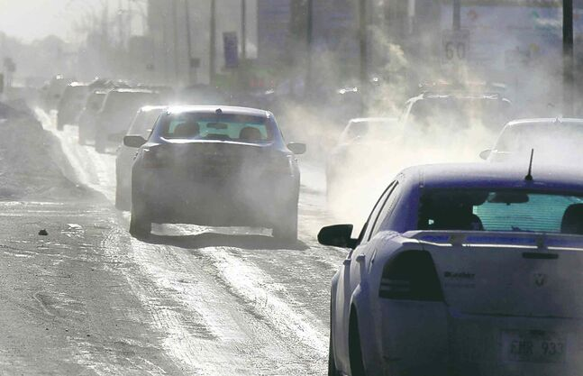 Winnipeggers navigate dangerously rutted icy streets at their own risk as they wait for the city to act.