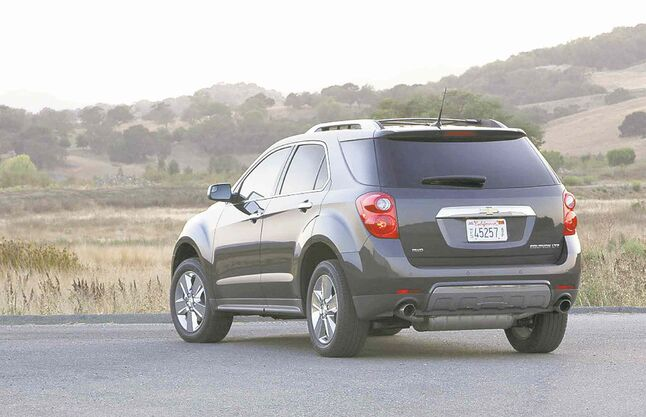 The Chevrolet Equinox compact SUV had its best sales month ever in February, GM says.