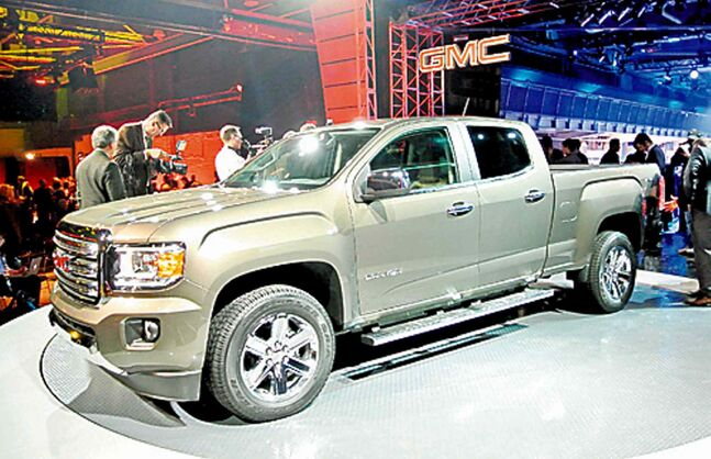 The all-new 2015 GMC Canyon.