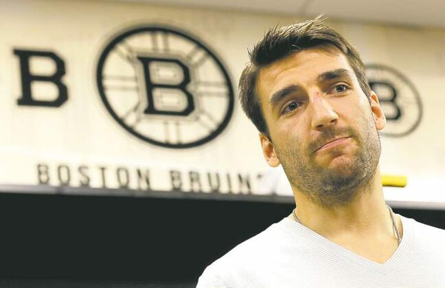 Even Patrice Bergeron admits playing with his injuries = torn rib cartilage, broken rib, punctured lung - may not have been smart, but he has no regrets.