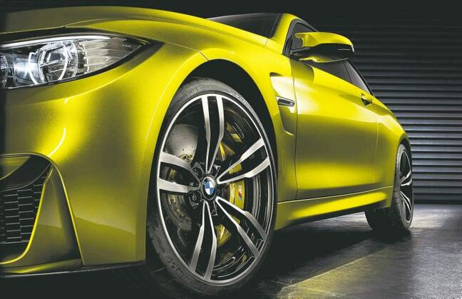 The BMW M4 Concept should give excellent insight as to what the production model will look like.