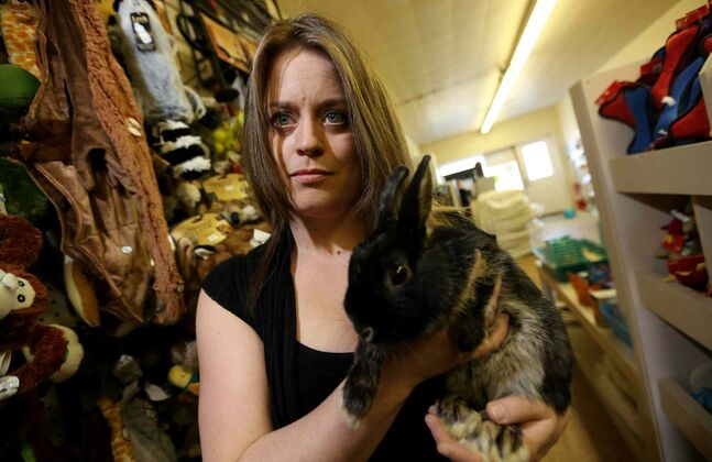 Tanya Morgan tried to get the city to fix her frozen pipes for a month. A crew finally showed up Sunday — minutes after, in despair, she had slashed prices and sold the last of her animals and supplies.