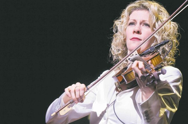 Natalie MacMaster plays again tonight and Sunday at the Centennial Concert Hall.