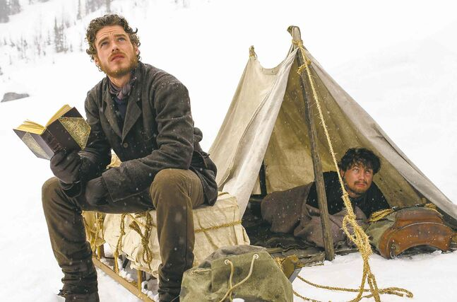 Richard Madden (left) and Augustus Prew in Klondike.