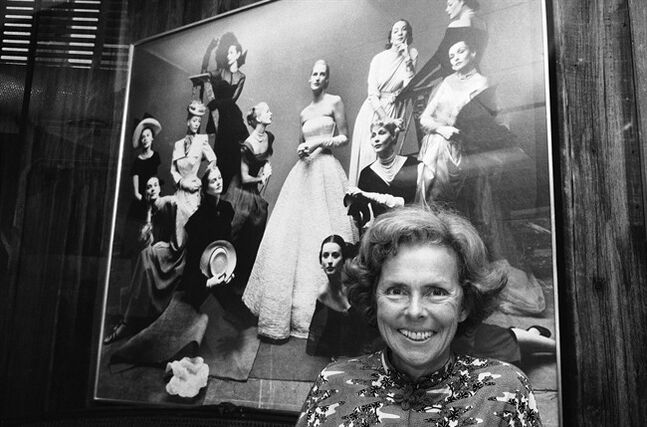 FILE - This Oct. 29, 1977 file photo shows Eileen Ford of Fords Models Inc. in New York. Ford, who shaped a generation's standards of beauty as she built an empire and launched the careers of Candice Bergen, Lauren Hutton, Jane Fonda, died Wednesday, July 9, 2014. She was 92. (AP Photo/Marty Lederhandler, File)