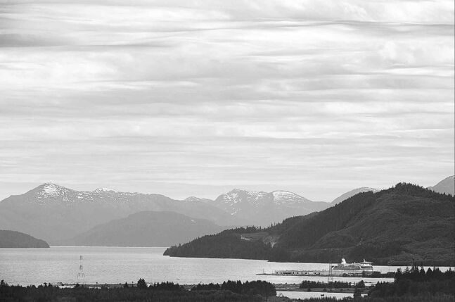 The Douglas Channel is seen from Kitimat, B.C.