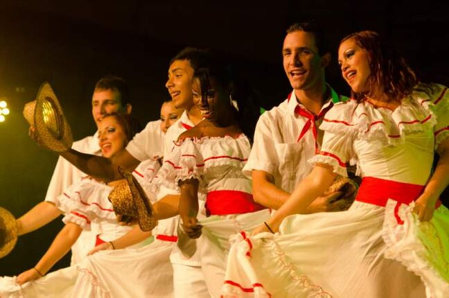 Dancers perform at the Cuba Va! Tropicana pavillion during Folklorama, Wednesday, August 15.