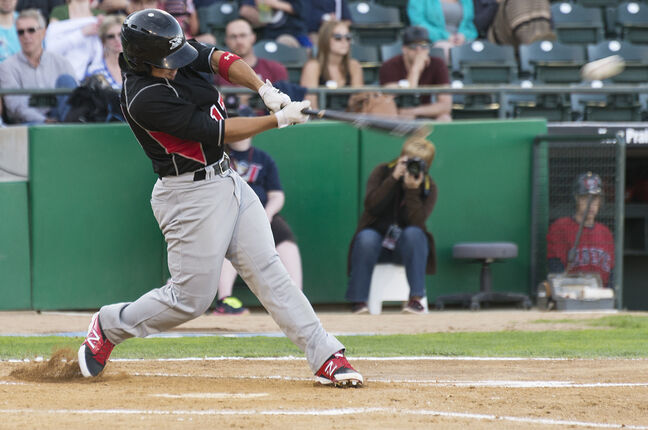 Sioux City's Amos Ramon has enjoyed his return to Shaw Park this week.