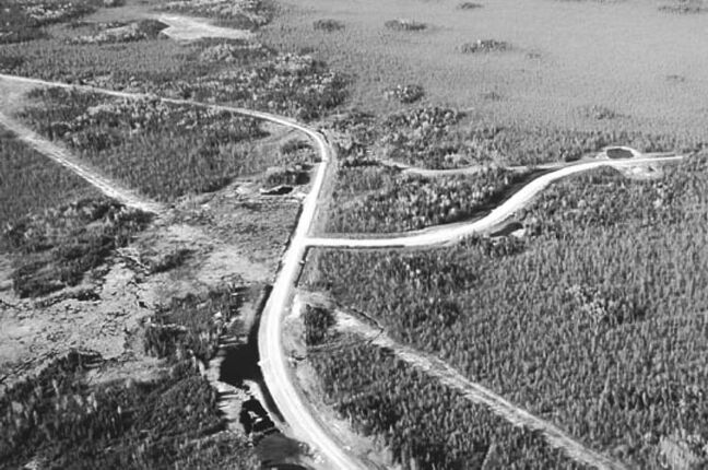Construction of an all-weather road on the east side of Manitoba was of concern to the UNESCO heritage committee.