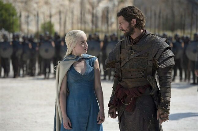 A scene from season 4 of Game of Thrones is shown in a recent handout photo.Some