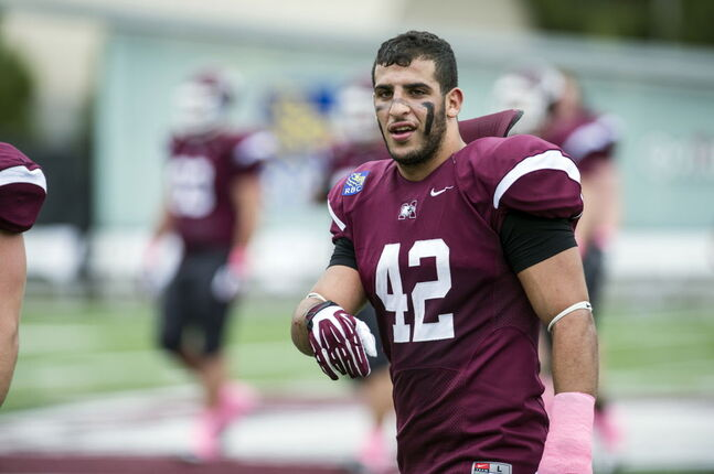 Bombers' late-round draft pick Aram Eisho has overcome plenty of obstacles on his path to a shot at the CFL.