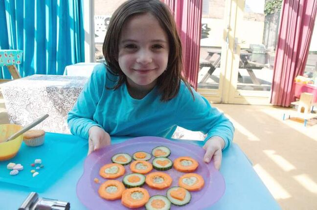 Amsterdam's Kinderkookkafe offers children a chance to make their own food, some of which is actually healthy.