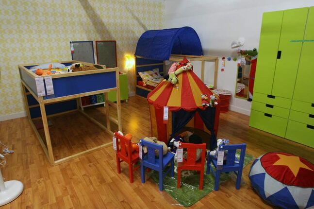 Kids room display