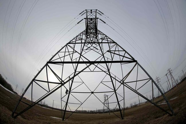 Electricity will flow west from Manitoba Hydro's generating stations to Saskatchewan.