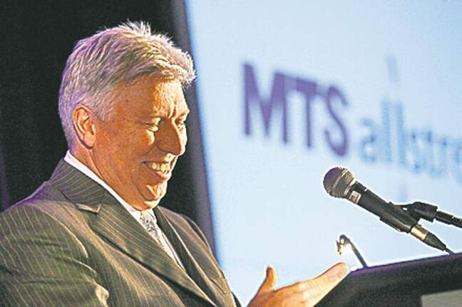MTS CEO Pierre Blouin