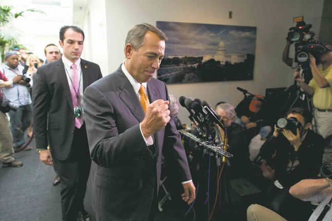 'We fought the good fight,' said Speaker of the House John Boehner.