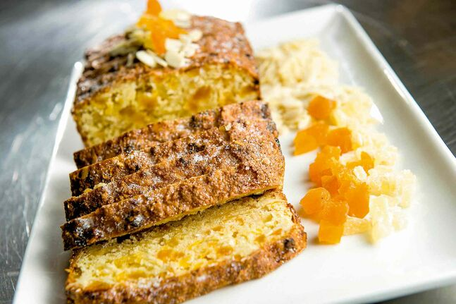This Apricot and Almond Slice recipe was developed for those who follow gluten-free and dairy-free diets.