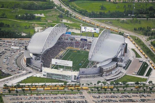 The Winnipeg Football Club will take in millions of dollars after hosting the Grey Cup in 2015 and the Heritage Classic during the 2015-16 NHL season.