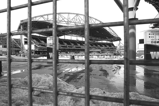 Design and construction issues continue to plague Investors Group Field.