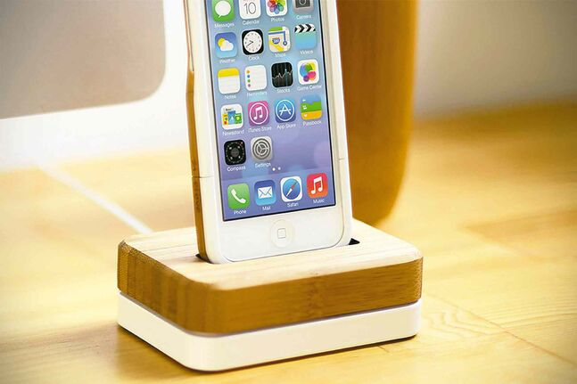 The Grove Dock for iPhone.