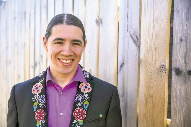 Robert-Falcon Ouellette, a university administrator running as a city hall outsider, kicked off his mayoral campaign Friday.