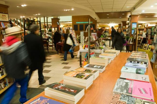 December 29, 2009: McNally Robinson Booksellers entered bankruptcy protection and announced it would be closing two of its four stores, including this one at Polo Park in Winnipeg.