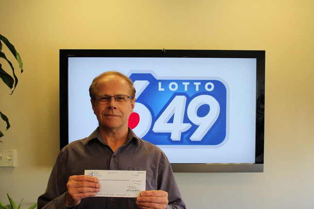 Dennis Nash won a cool $8.1 million in the LOTTO 6/49 draw on Dec. 28.