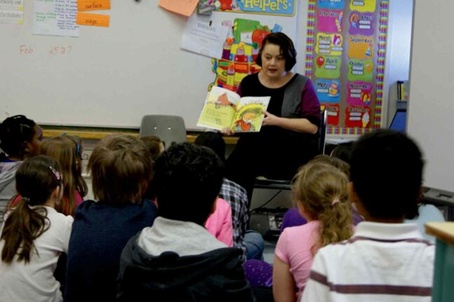 Fort Rouge MLA Jennifer Howard had a great time reading Click Clack Moo to the students at Gladstone School during I Love to Read Month this past February.