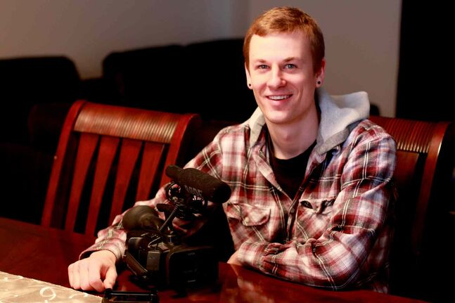 Matt Pierce, 24, is looking to complete his new documentary 'Anchor' with the help from online community fund-raising.
