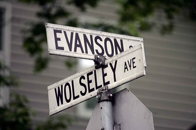 The Wolseley neighbourhood is named after Garnet Joseph Wolseley, commander of the force that ended the 1870 Red River Rebellion by Louis Riel. (Ken Gigliotti / Winnipeg Free Press files)
