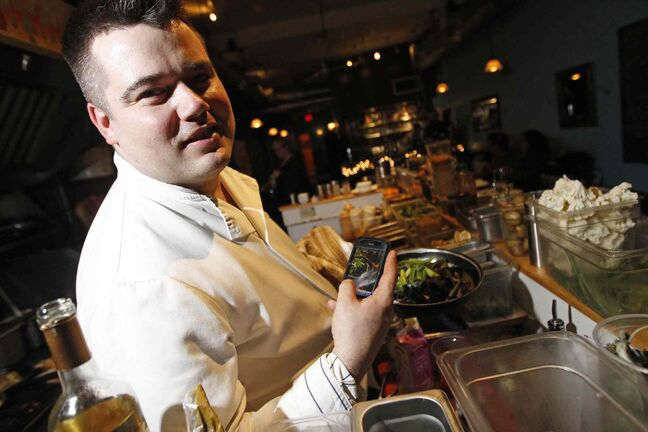 Alexander Svenne has been named the new executive chef at the Inn at the Forks. He starts in September.