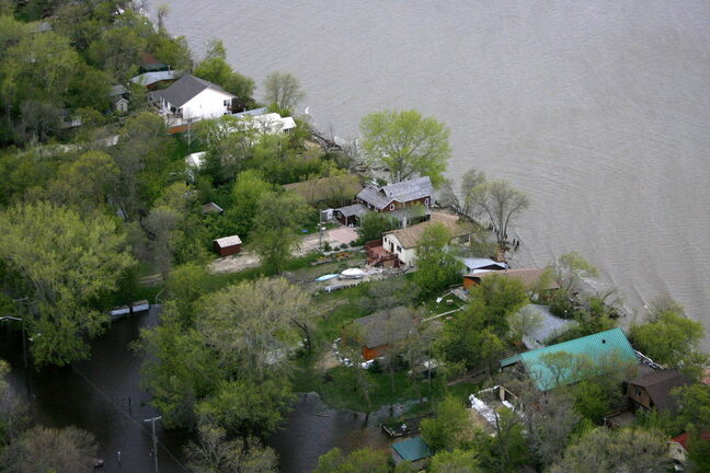Properties on Lake Manitoba's Delta Beach were damaged in the 2011 flood.