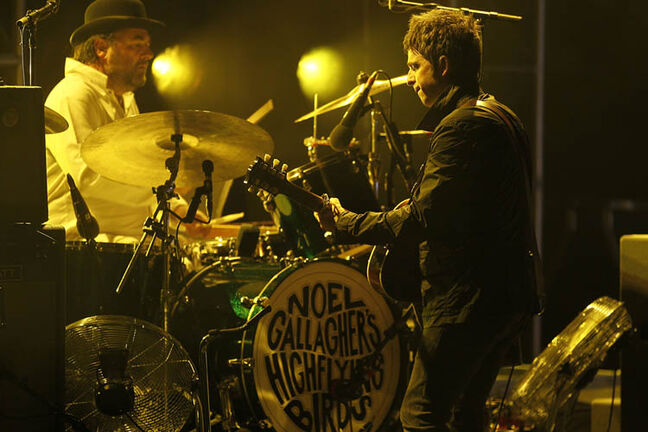 Noel Gallagher's High Flying Birds perform at the Centennial Concert Hall Tuesday October 30, 2012.