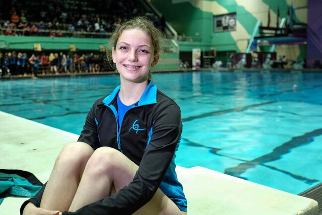 Madison McLeod has set her sights on a spot on the provincial team, and will work out through the summer in a bid to get there.