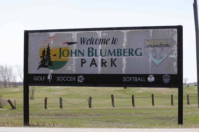 John Blumberg golf course opened today.
