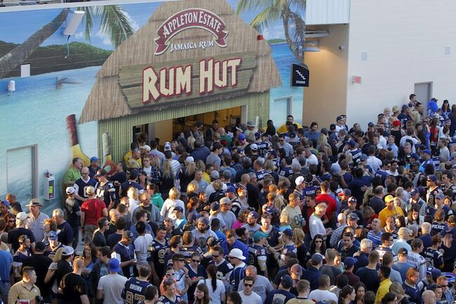 The Rum Hut lives again.