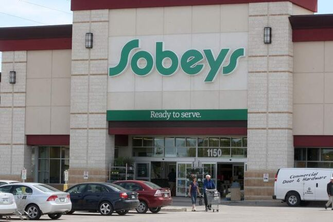 The Sobeys grocery store on Taylor Avenue.