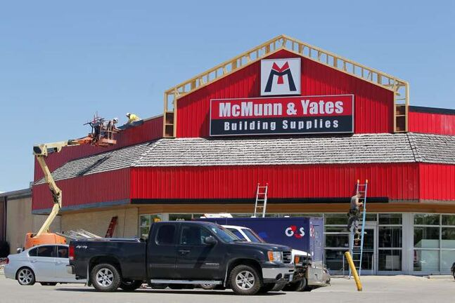 McMunn & Yates bought six McDiarmid Lumber stores, including the Pembina Highway location, and its distribution centre in June.