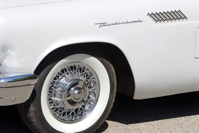 The detail on the restored Thunderbird is spectacular.