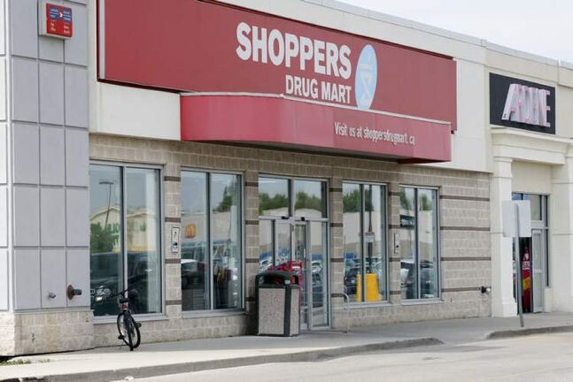 At least a half-dozen employees and a handful of customers were inside the  Shoppers Drug Mart at the time of the robbery.