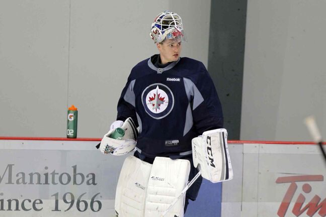 Winnipeg Jets have called up goalie Michael Hutchinson from St. John's.