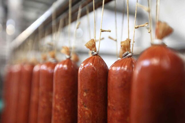 The Winnipeg Old Country Sausage Factory on Dufferin Avenue has recalled some of its meat products because they contain an unspecified quantity of mustard that is not declared on the packaging.