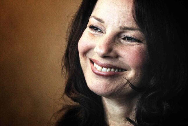 Actress Fran Drescher (The Nanny, Happily Divorced) spoke at the 22nd annual Guardian Angel Benefit Sunday at the RBC Convention Centre. More than 1,400 people attended the event.