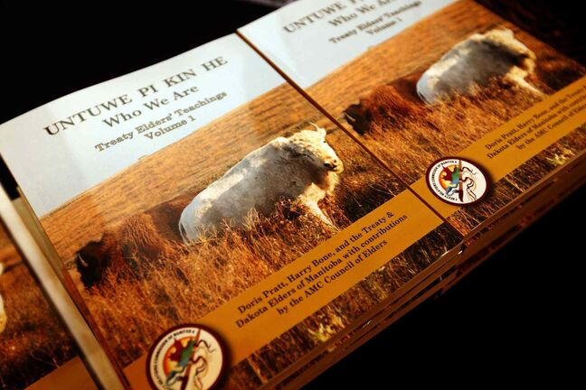 Untuwe Pi Kin He (Who We Are Dakota) Treaty Elders Teachings Vol. 1 was released today.